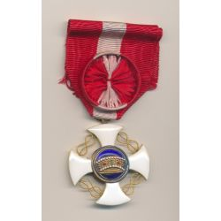 Italie - Ordre de la couronne - Officier - avec écrin