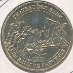 Dept13 - Château baux de provence - le trébuchet 2004 B