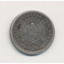 Uruguay - 10 centesimos - 1877 A