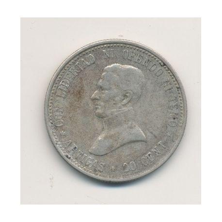 Uruguay - 20 centesimos - 1920