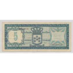 Antilles hollandaises - 5 Gulden - 1967