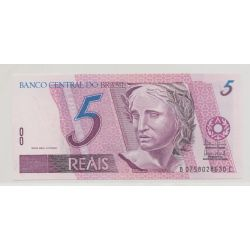 Brésil - 5 Reals - 1994