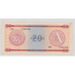Cuba - 20 Pesos - A