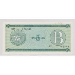 Cuba - 5 Pesos - B