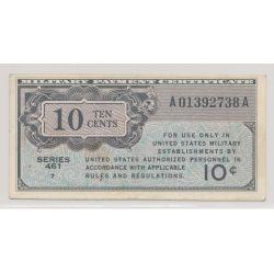 Etats-Unis - 10 cents - ND 1946