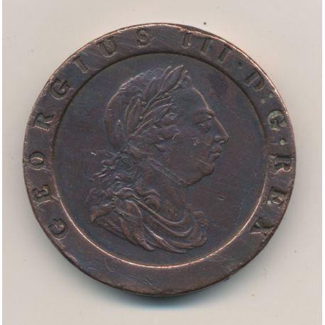 Angleterre - George III - 2 Pence - 1797