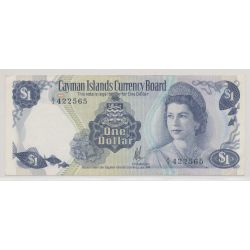 Iles caimans - 1 Dollar - 1974