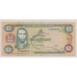 Jamaïque - 2 Dollars - 1990