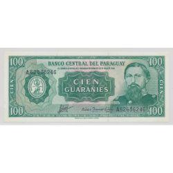 Paraguay - 100 Guaranis - 1952
