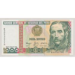 Pérou - 1000 Intis - 1988