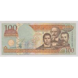 République dominicaine - 100 Pesos pro - 2002