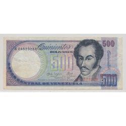 Vénézuéla - 500 bolivars - 1987