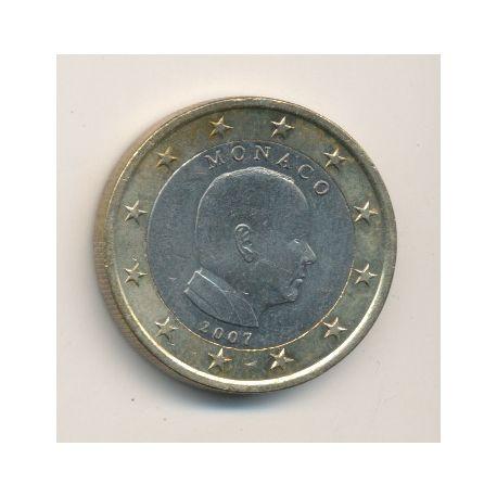 1€ Monaco Albert II - 2007 - sans différent