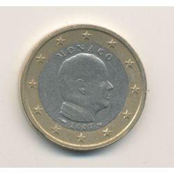 1€ Monaco Albert II - 2007 - avec différent