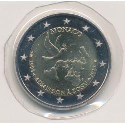 2€ Monaco 2013 - ONU 1993-2013