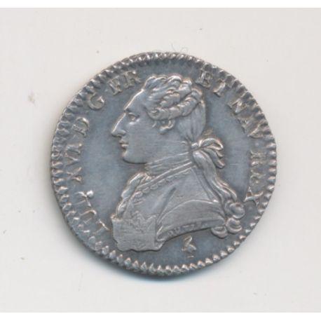Louis XVI - 1/10 écu aux lauriers - 1777 A Paris