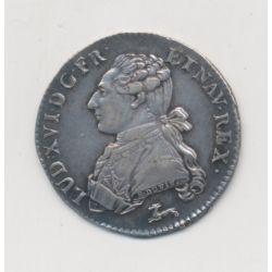 Louis XVI - 1/5 écu aux lauriers - 1786 R Orléans
