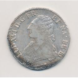 Louis XVI - Écu aux lauriers du béarn - 1784 Pau