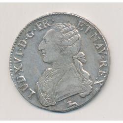 Louis XVI - Écu aux lauriers - 1785 R Orléans