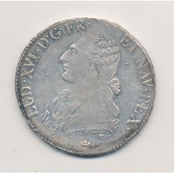 Louis XVI - Écu aux lauriers - 1789 M Toulouse