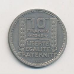 10 Francs Turin - 1945 Essai - cupronickel