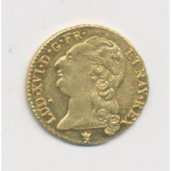 Louis XVI - Louis d'or à la tête nue - 1787 I Limoges