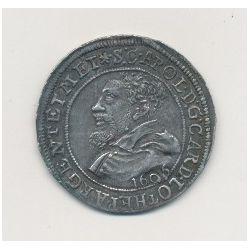 Alsace - 1/4 écu 1606 - Strasbourg - Charles II de Lorraine