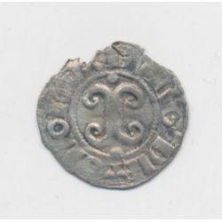 Duché de bourgogne - Denier argent Dijon - Eudes III