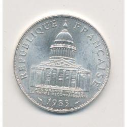 100 Francs Panthéon - 1983 - argent - TTB+