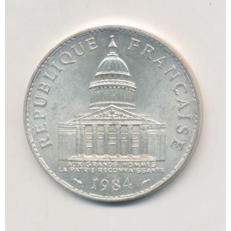 100 Francs Panthéon - 1984 - argent