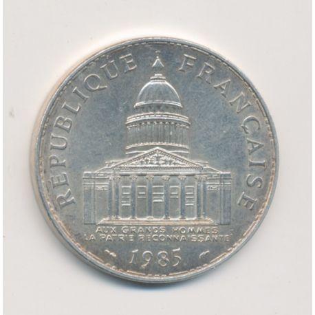 100 Francs Panthéon - 1985 - argent