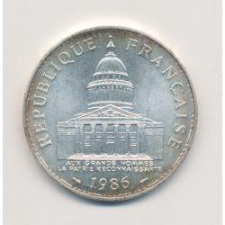 100 Francs Panthéon - 1986 - argent - TTB+