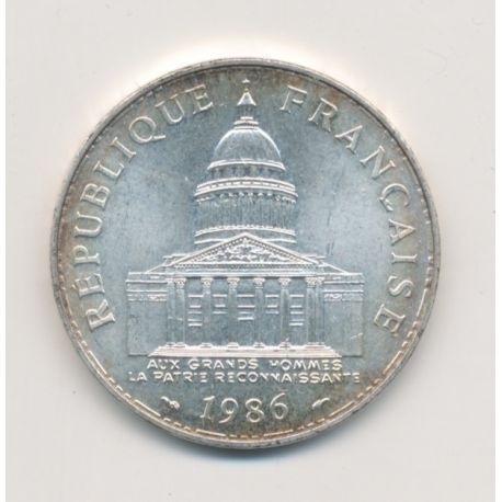 100 Francs Panthéon - 1986 - argent