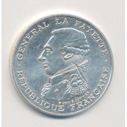 100 Francs La Fayette - 1987 - argent