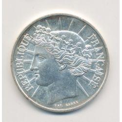 100 Francs Fraternité - 1988 - argent