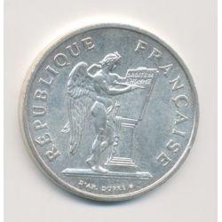 100 Francs Droits de l'homme - 1989 - argent