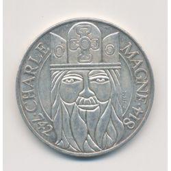 100 Francs Charlemagne - 1990 - argent