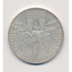 100 Francs Libération de Paris - 1994 - argent