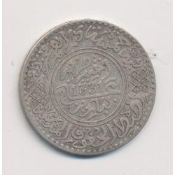 Maroc - 5 Dirhams - 1913 - Moulay Youssef I - argent