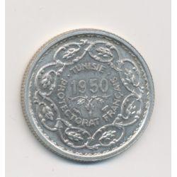 Tunisie - Module 10 Francs - 1950 - Mohamed lamine bey - argent