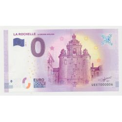 Billet Touristique O Euro - Grosse Horloge - 2018 - Numéro 000006