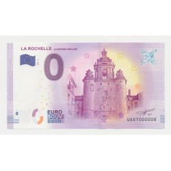 Billet Touristique O Euro - Grosse Horloge - 2018 - Numéro 000008