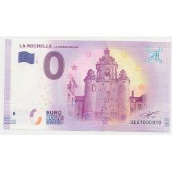 Billet Touristique O Euro - Grosse Horloge - 2018 - Numéro 000050