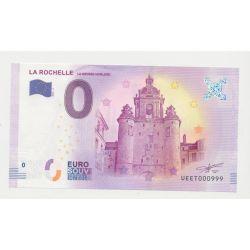 Billet Zéro € - Grosse Horloge - N°999 - 2018