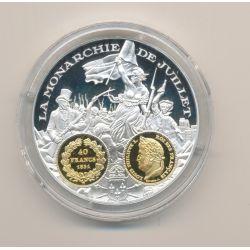 Médaille  - Louis philippe I - 40 Francs 1831 - 2000 ans d'histoire monétaire Français