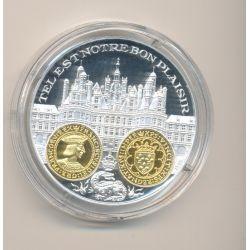 Médaille  - François 1er - Ecu d'or - 2000 ans d'histoire monétaire Français