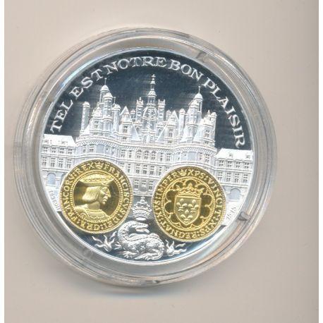 Médaille  - François 1er - Eco d'or - 2000 ans d'histoire monétaire Français