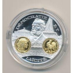 Médaille  - Marianne - 20 Francs - 2000 ans d'histoire monétaire Français