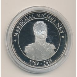 Médaille - Maréchal Michel Ney - 1769-1815 - Collection Napoléon Bonaparte