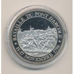 Médaille - Bataille du pont d'arcole - 15-17 novembre 1796 - Collection Napoléon Bonaparte